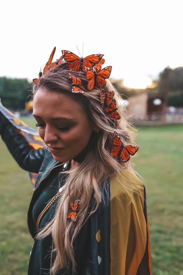 Last Minute Halloween Costume DIY Butterfly & Butterfly