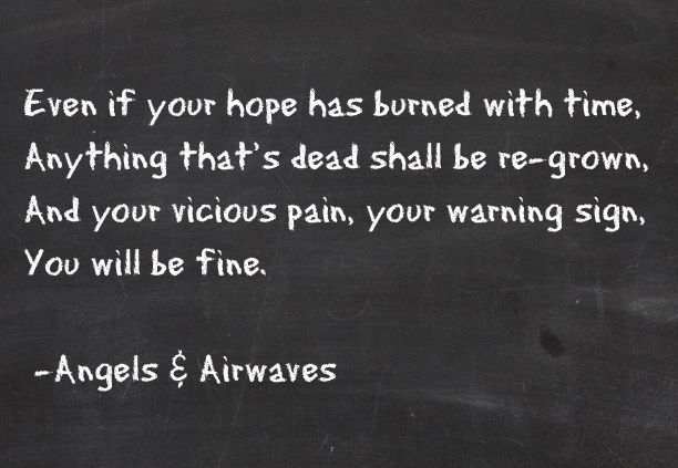 Angels and Airwaves - The Adventure Lyrics | SongMeanings
