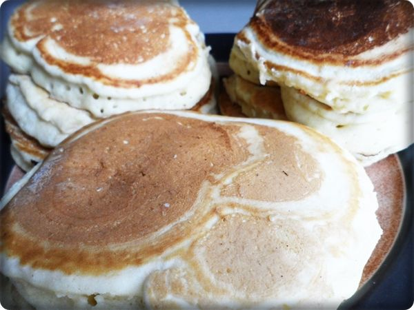 Almond  milk Pancakes Just made them! They were awesome!