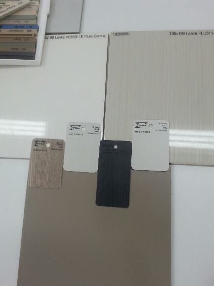 Neutral Bathroom tile selection