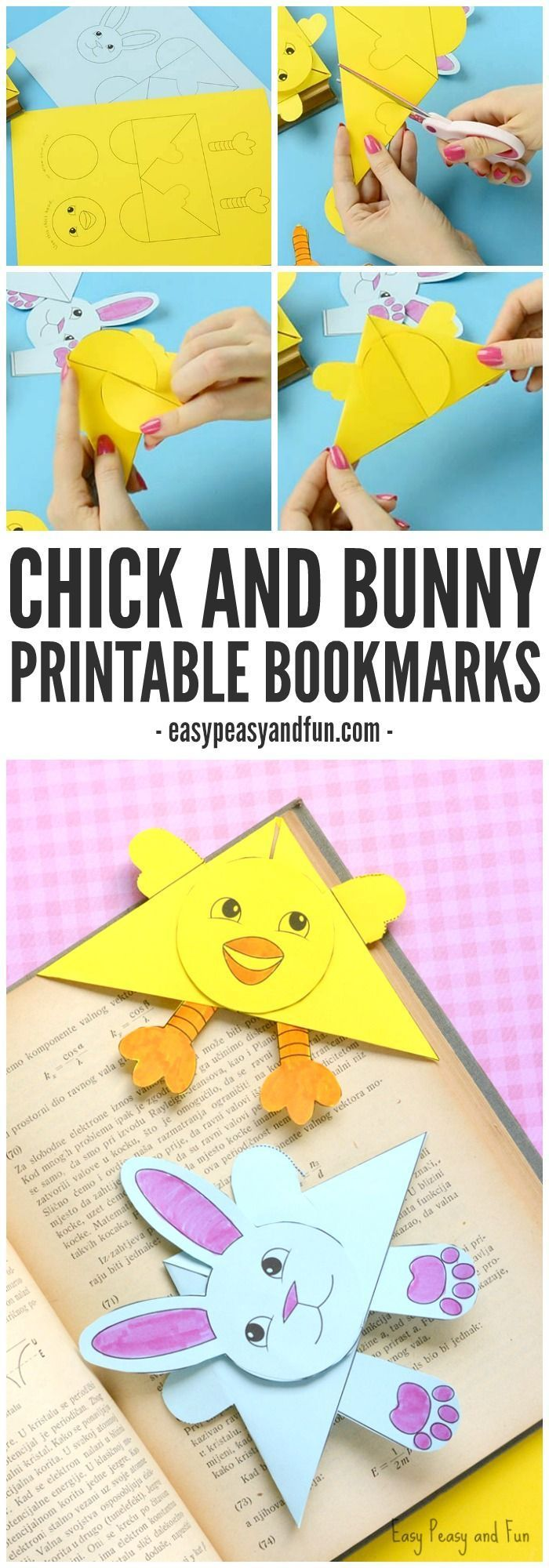 easter bunny corner bookmark 17 best images about crafts for on on 4298