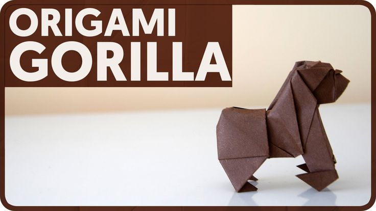In this tutorial I show how to make an origami gorilla designed by Joseph Wu. I would like to thank Mr Wu for allowing me to make this tutorial. Be sure to c...