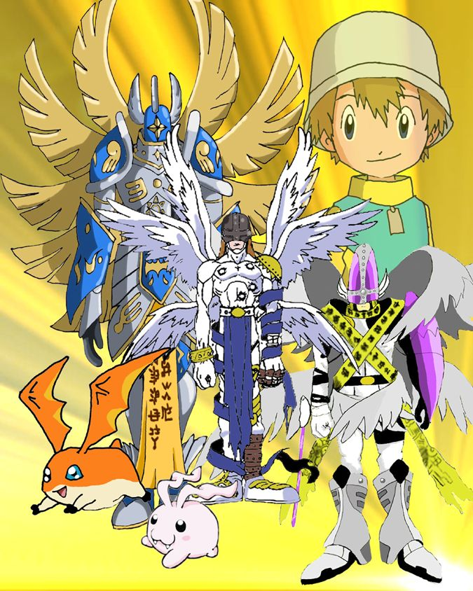 T.K. was my favorite Digimon character when I was young...but I was very young then, so I actually never remembered much of Digimon Adventure 01 and 02 until I rewatched it. But, I was old enough to remember ALL of Digimon Frontier, so Koji Minamoto is my favorite character of all time ;)