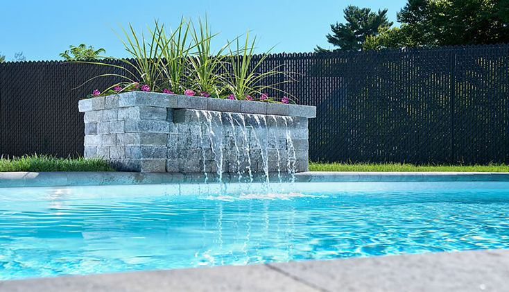 Leeroc pav s briques et pierres produits d 39 am nagement for Photo d amenagement piscine