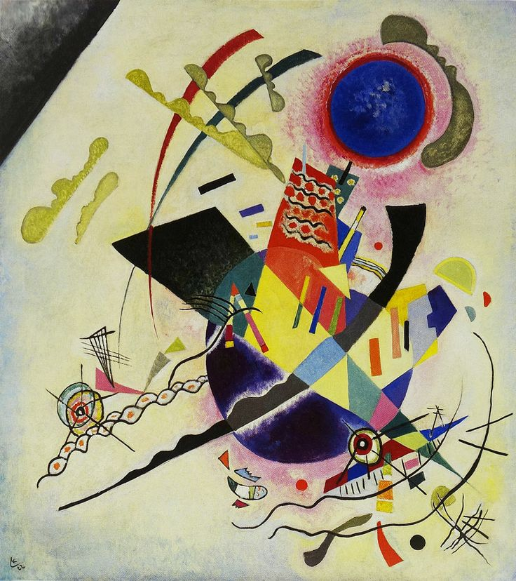 Wassily Kandinsky, Blue Circle, 1922 | Art | Pinterest ...