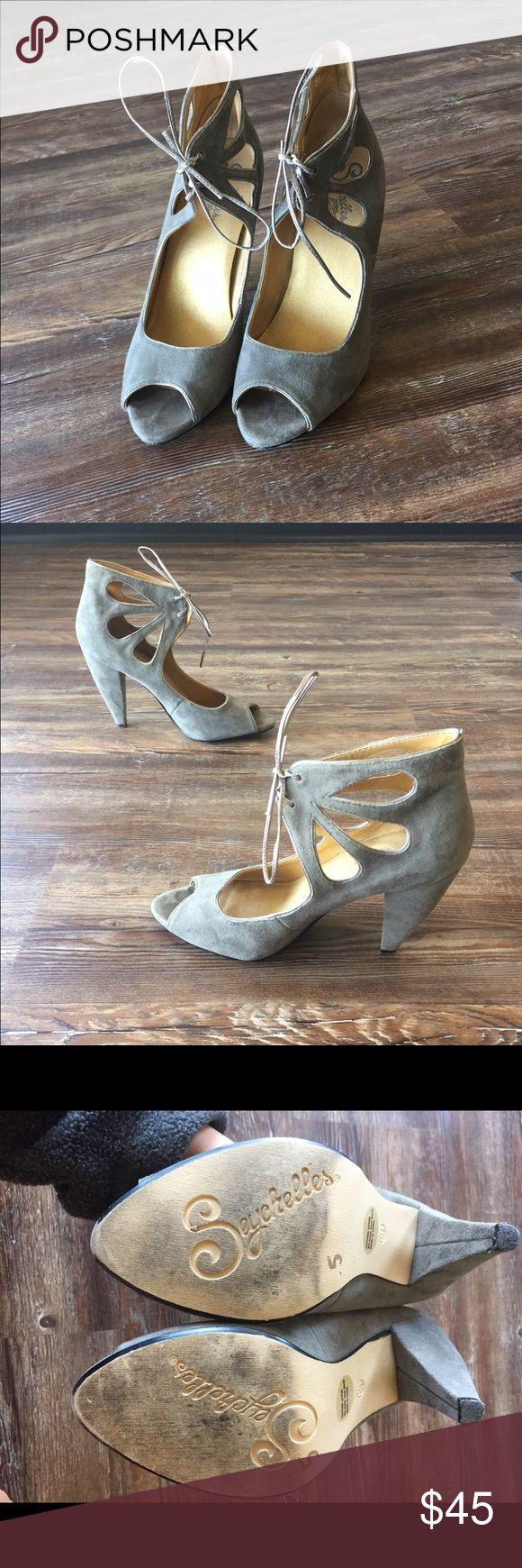 Seychelles Women's Heels- Peep Toe- sz 8 1/2 Seychelles Women's Heels- Peep Toe- sz 8 1/2 Seychelles Shoes Heels