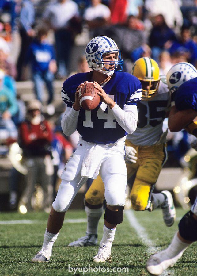 14 Ty Detmer 19871991 Byu sports, Oregon football, Byu