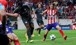 Michy Batshuayi Making the Double against Atletico Madrid in 2017 UEFA championship