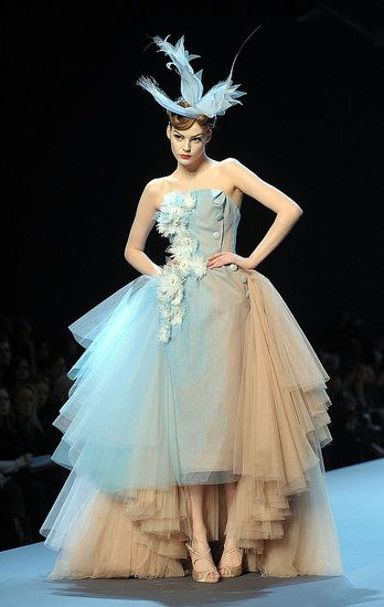 awe-inspiring haute couture...john galliano for christian dior...spring 2011
