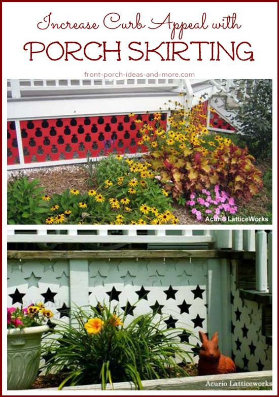 17 Best Images About Porch Skirting On Pinterest Home