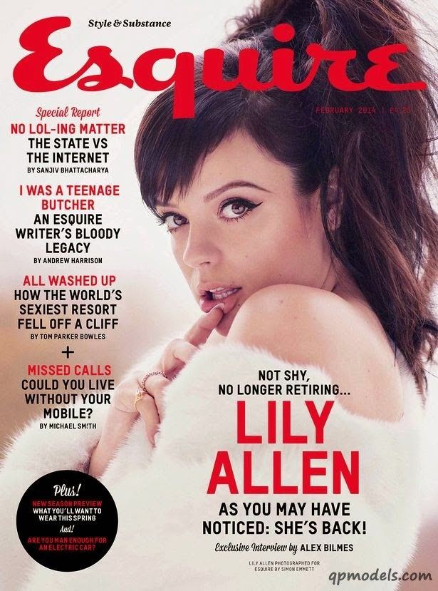 Lily Allen for Esquire UK (February 2014) - http://qpmodels.com/celebrity/lily-allen/5519-lily-allen-for-esquire-uk-february-2014.html