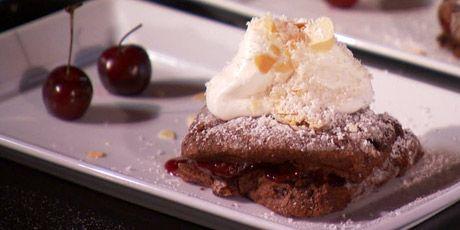 Chocolate Cherry Shortcakes