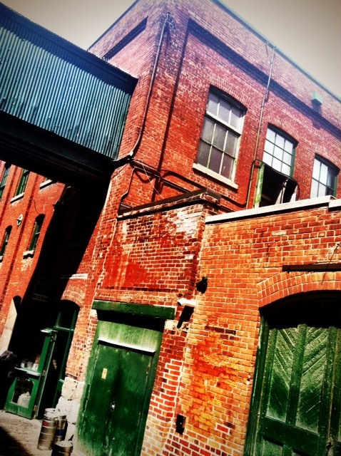 Old Distillery District, Toronto #industrial #warehouse