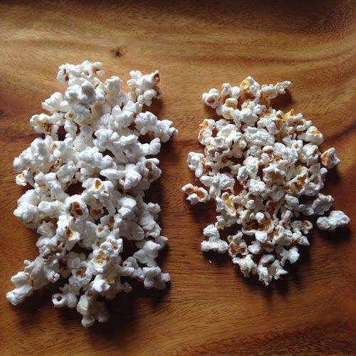 Food Pusher: Al Dente Popcorn (Crunchy Partially Popped Popcorn)
