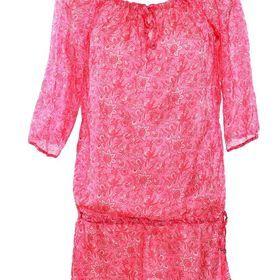 TOMEL - Cette tunique rose de plage incarne la légèreté. Offrez lui grâce à http://www.tomelapp.com/