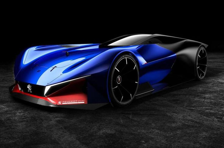 Peugeot L500 R Hybrid.The futuristic concept car from france!Does this reminds you at the big oldtimer supercar from Peugeot ?
