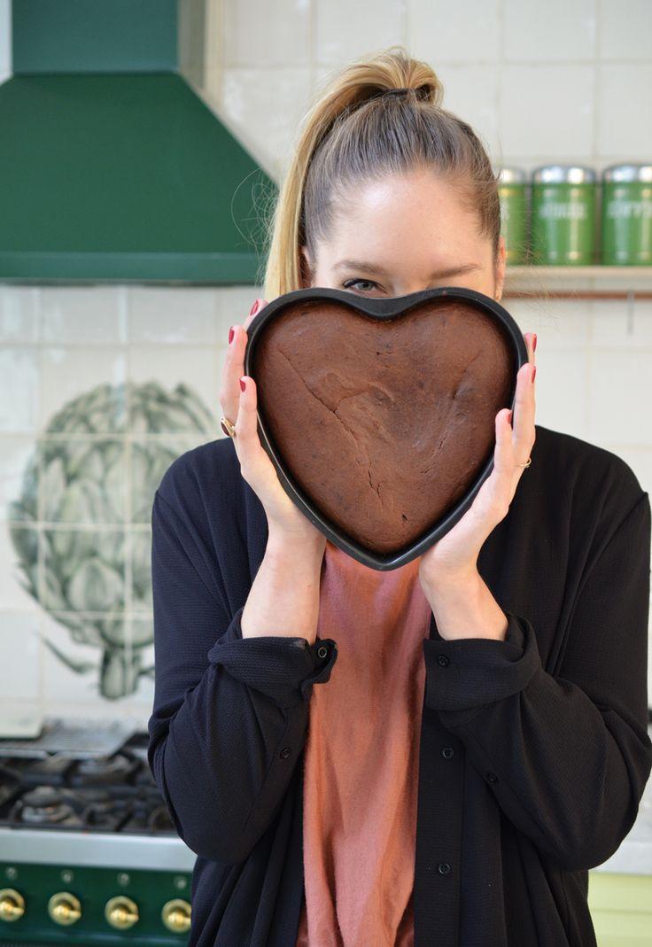 Op de dag van de liefde wil je uiteraard extra uitpakken in de keuken. Ik heb deze gister alvast gemaakt zodat ik het vandaag met iedereen die ik lief heb kan delen. Happy Valentine's day Powerfoodies!