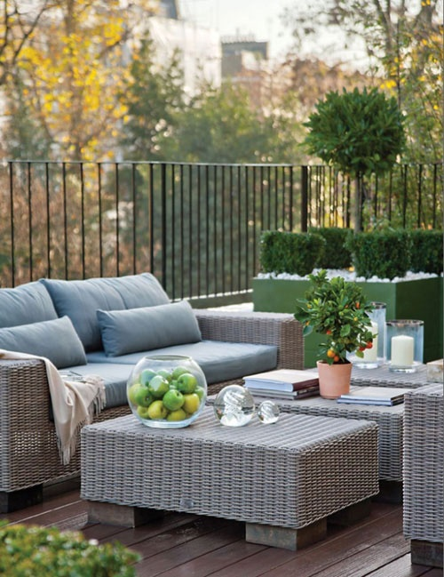 105 best images about muebles de jardin on pinterest - Muebles rattan exterior ...