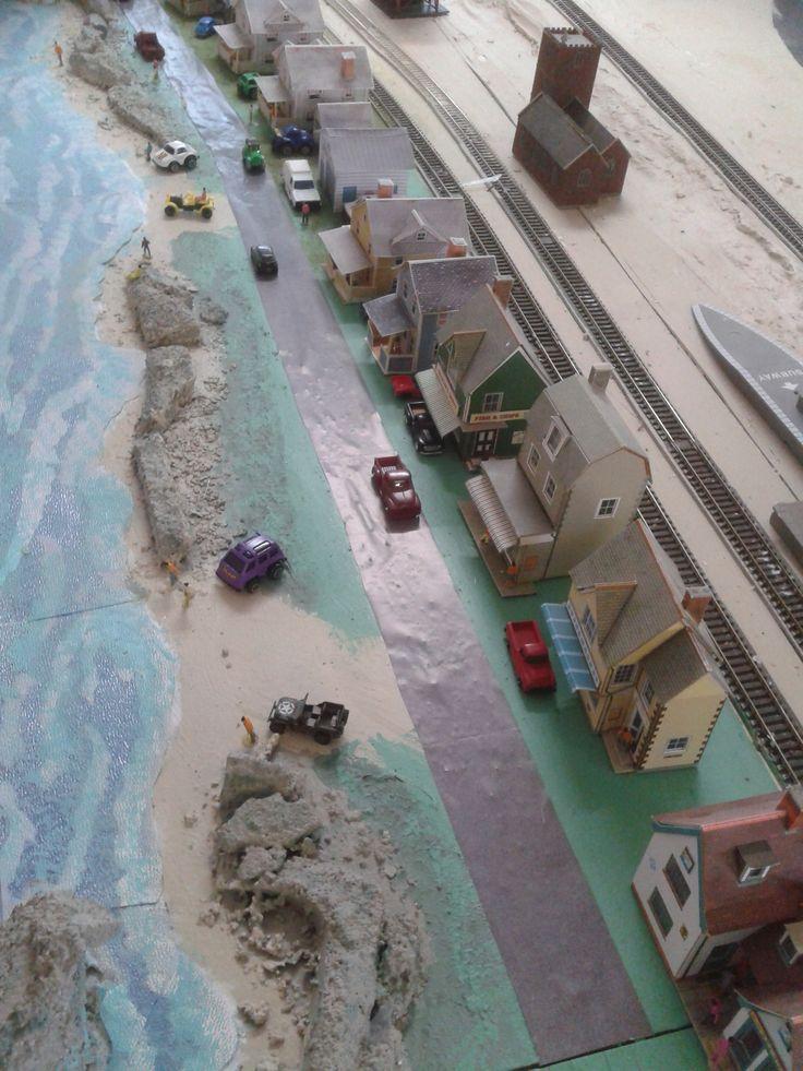my beach scene