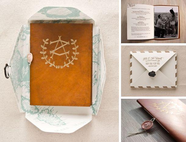 10 Unique Wedding Invitation Packages