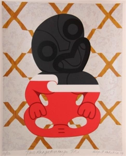 Tino Rangatiratanga Tiki by Robyn Kahukiwa