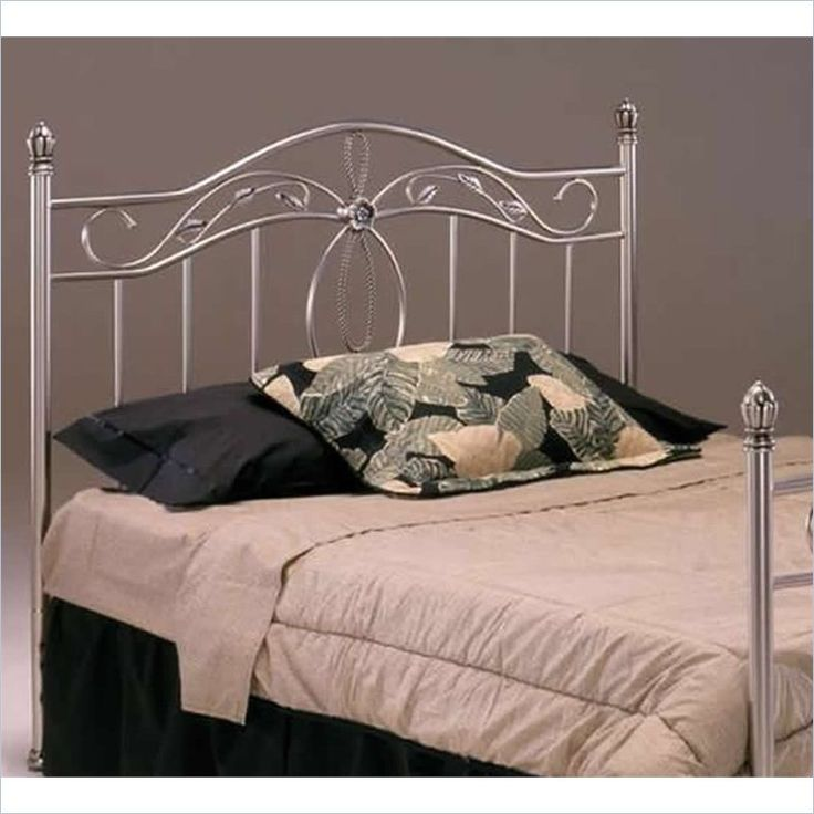 Bernards San Angelo Headboard In Nickel Finish   100X
