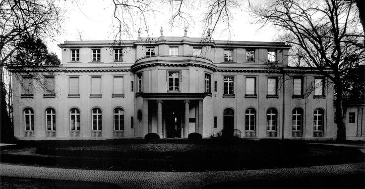"Haus der Wannsee-Konferenz, Berlin - Germany Where the Wannsee conference was held for the ""Final Solution."""