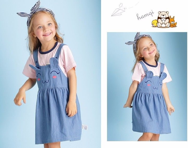 F3726166#latest Top Design Cute Rabbit Ears Smile Embroided Girl Child Dress Wholesale Children's Boutique Clothing - Buy Manufature Cowboy Vest Dress,Childrens Boutique Clothing,Sexy Girl Skirt Product on Alibaba.com