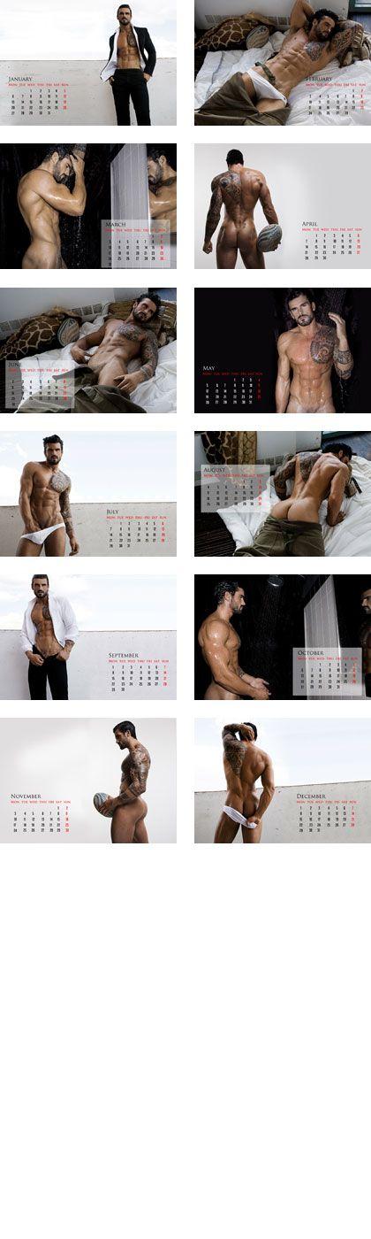 Stuart Reardon 2014 Calendar...rugby body...oh my