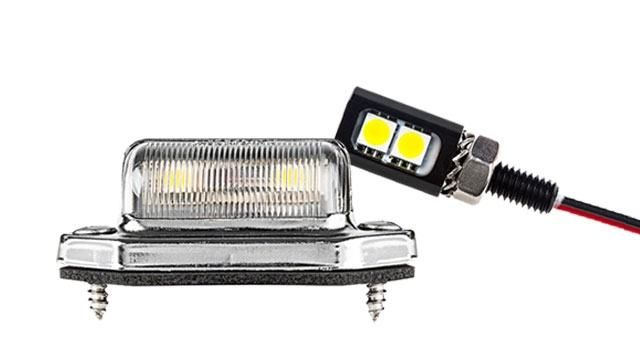 1 Round Wired Led Accent Light 80 Lumens In 2020 License Plate Led Accent Lighting
