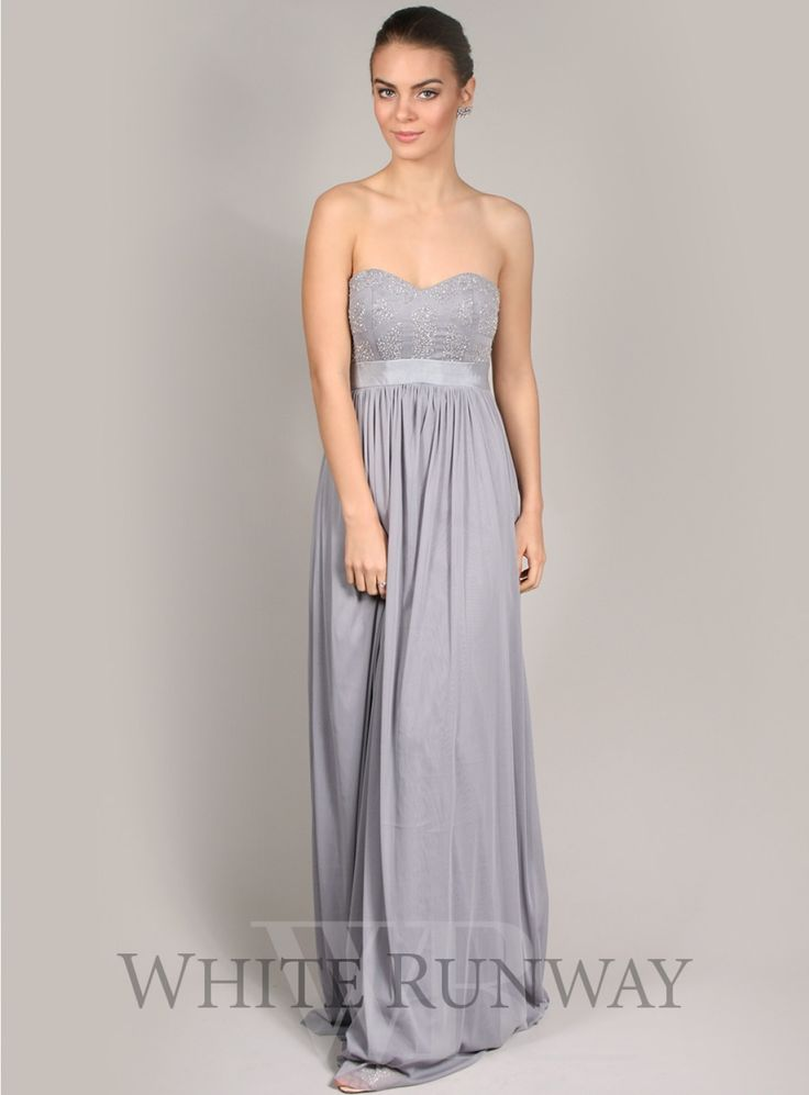 278 best grey bridesmaids images on pinterest for Grey dress wedding guest