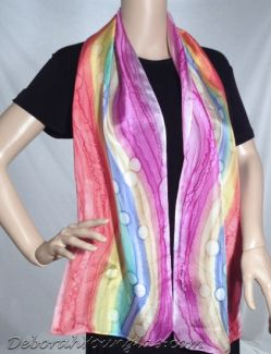 Silk Square Scarf - Pastel Silks by VIDA VIDA