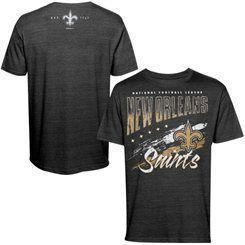 New Orleans Saints All Time T-Shirt - Black