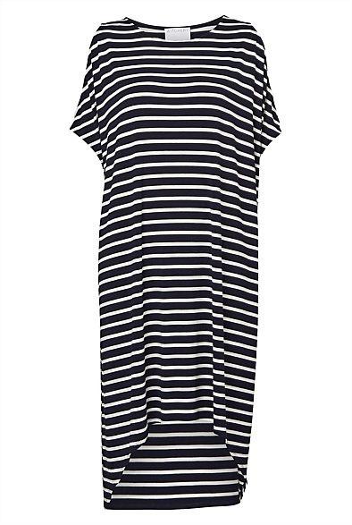 Stripe Split Dress #WITCHERYSTYLE