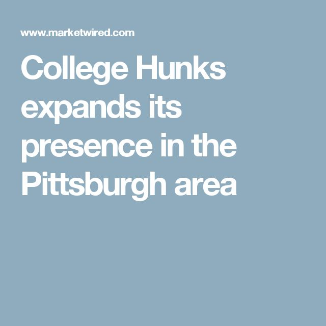 College Hunks expands its presence in the Pittsburgh area