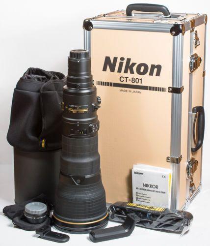 Nikon AF-S Nikkor 800mm f:5.6E FL ED VR lens
