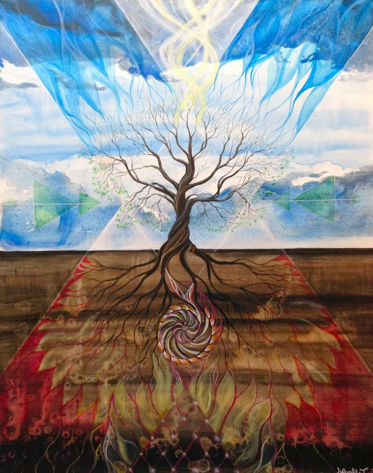 °The tree of life (Livets træ) by Lisbeth Thygesen