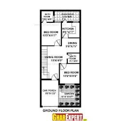 15 X 45 House Plan House Plans