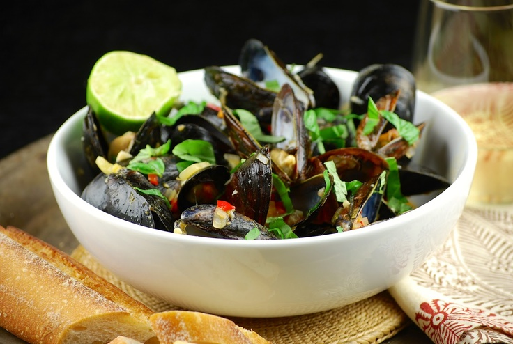 "Coconut curry mussels | ""From the Sea"" Collection 