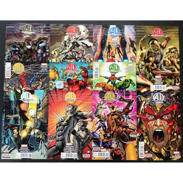 Age of ultron 2013 age of ultron collectibles comic