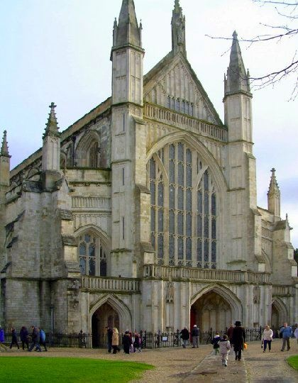 WINCHESTER CATHEDRAL | WINCHESTER | HAMPSHIRE | ENGLAND