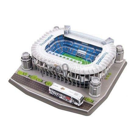 Maqueta para armar del Estadio del Real Madrid 'Santiago Bernabeu'  #puzzle  #3d #toys #juguetes #maqueta
