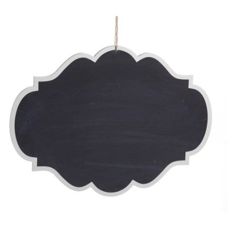 Decorative Hanging Chalkboard Sign Buy Shape And Paint Or