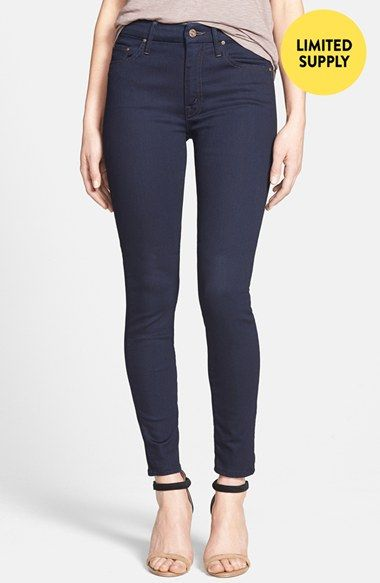MOTHER 'The Looker' Skinny Jeans (Give Me Liberty) (Nordstrom Exclusive)