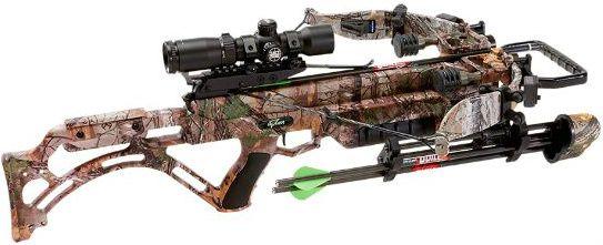 Excalibur Micro Suppressor. Quietest crossbow ever.