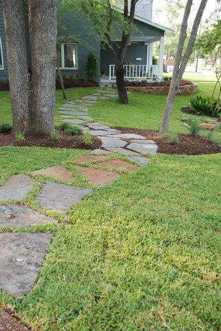flagstone walkway Architectural Landscape Design