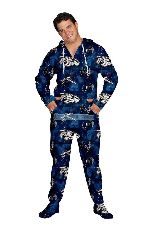 Star Wars Pajamas Footie Pjs Onesies One Piece Adult