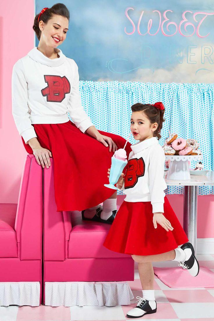 '50s Cheerleader Costume for Girls: #Chasingfireflies $76.00$36.00