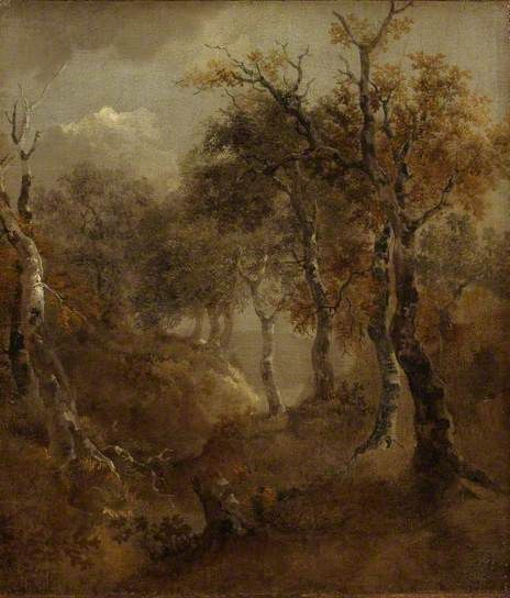 Autumn Landscape by Thomas Gainsborough (1727-1788). Watch a slideshow of 372 paintings here.