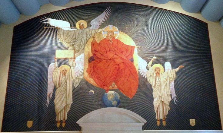 Christ The Judge - Jan Henryk de Rosen (February 25, 1891 – August 22, 1982)